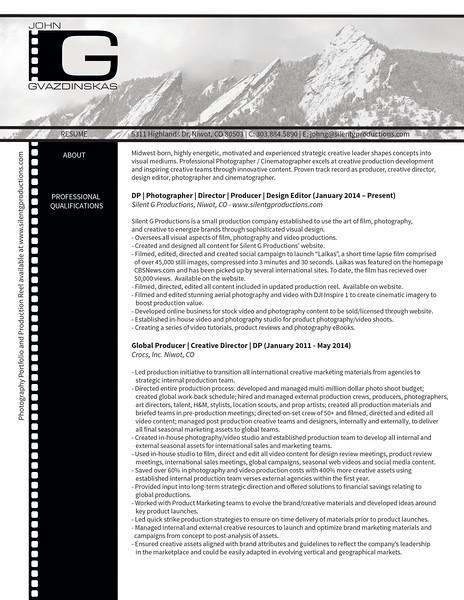 John Gvazdinskas Professional Resume 5_22_15