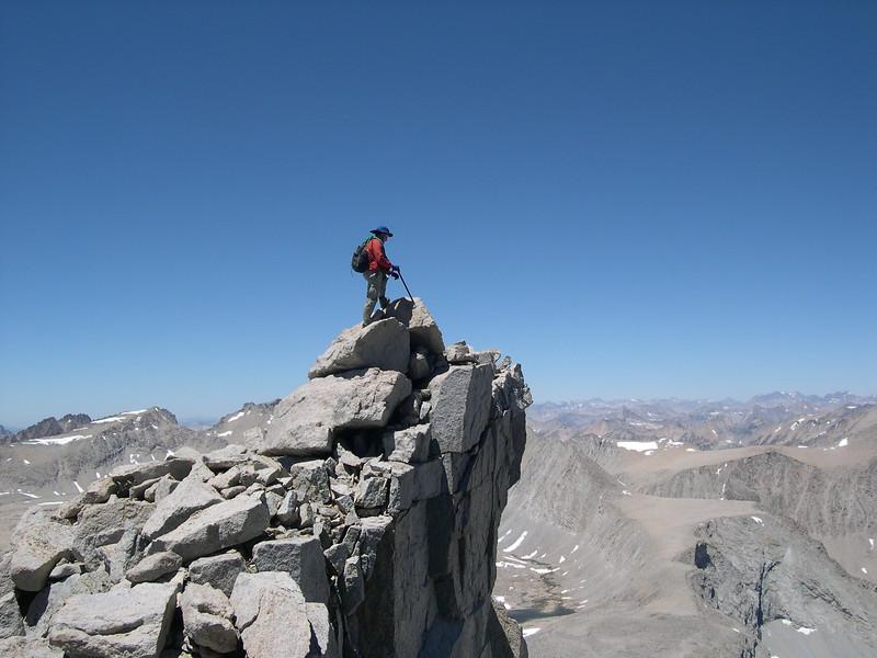 (2004--July 10-12)  Climbing Mount Tyndall