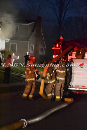 Seaford F.D. Basement Fire 1654 Parkview Ave. 3-28-12