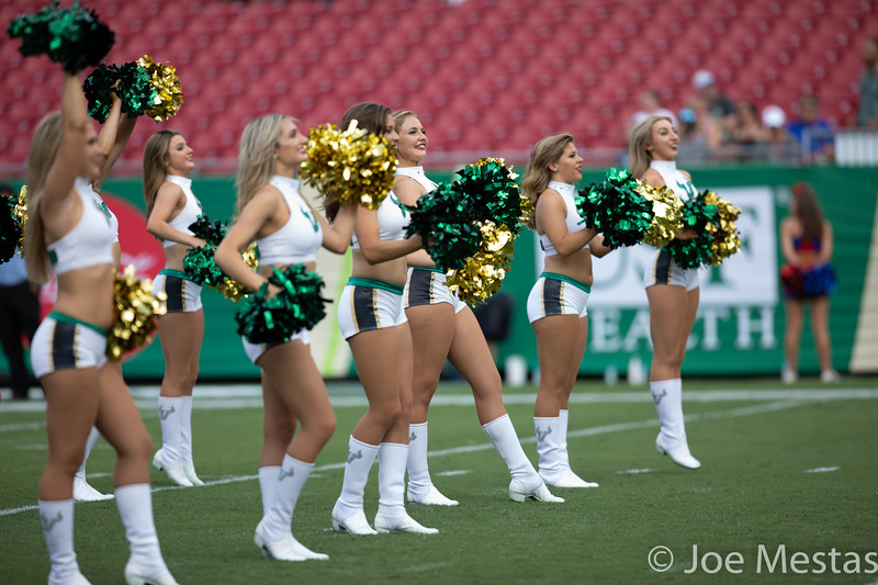 USF Bulls vs SMU Mustangs
