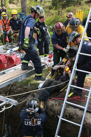 Butte Trench Rescue