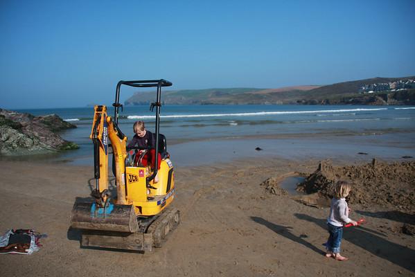Polzeath Beach  Bits and Bobs