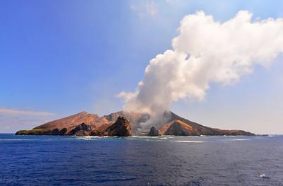 White Island Volcano, NZ