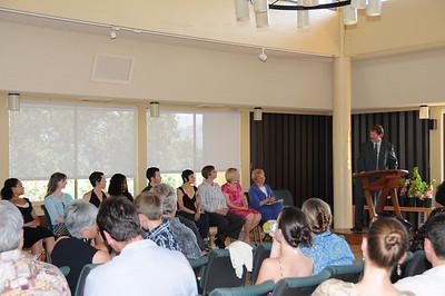 Green MBA Presentations + Graduation