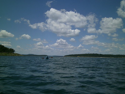 Bull Shoals - Browns Beach to the Cliffs