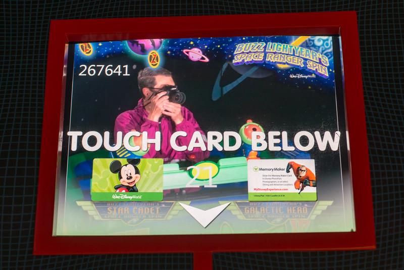 Buzz Lightyear Self Portrait - Magic Kingdom Walt Disney World