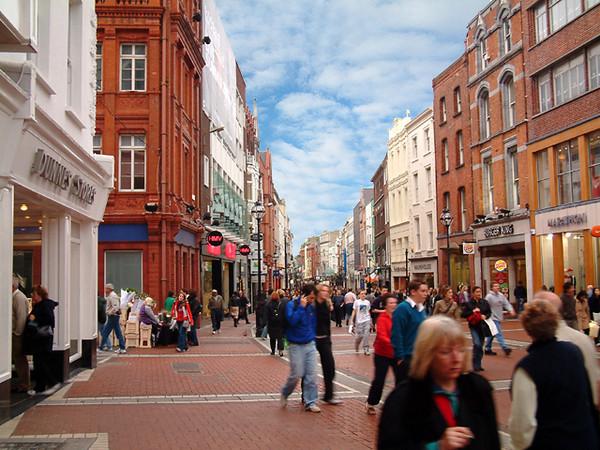 Dublin - Grafton Shopping Street