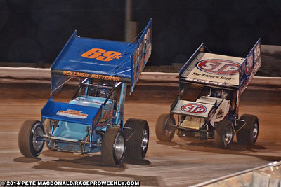 World of Outlaws Williams Grove 5/17/14 - Pete MacDonald