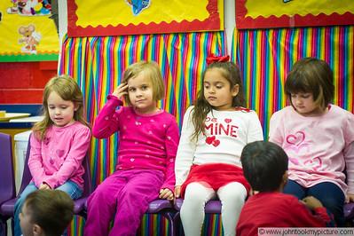 2012 02 14 Carley at School on Valentine's Day