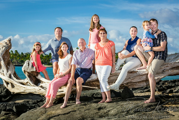 140805 Family Photo Session on A Bay
