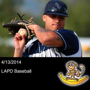 2014-04-13 LAPD Baseball