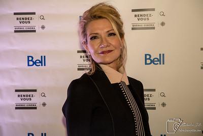 Tapis bleu des Rendez-vous Québec cinéma 21-02-18