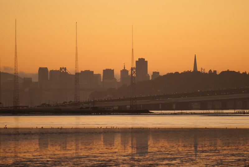 San Francisco over Mclaughlin Eastshore