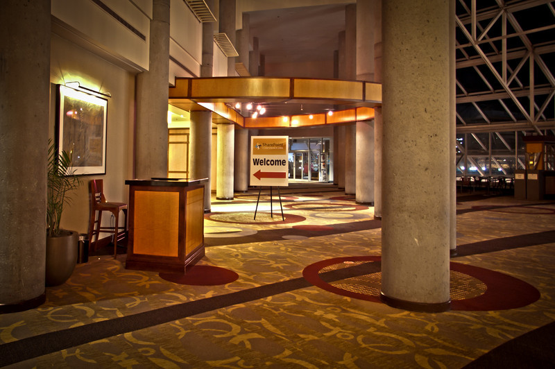 The gorgeous Hyatt in Baltimore