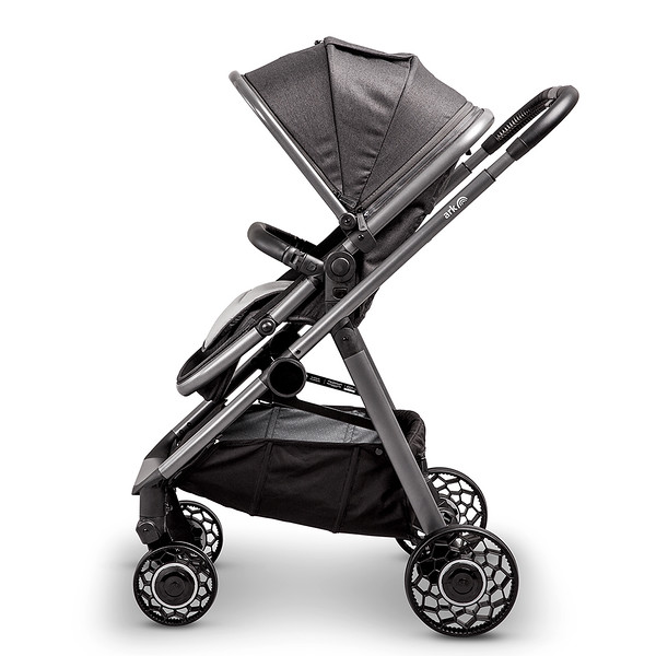 3 Ark Travel System Pushchair Mode World Facing Charcoal.jpg