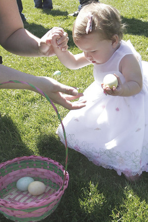 Hunting for Easter eggs