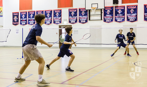 First Winter Sports Event - Badminton Friendly!