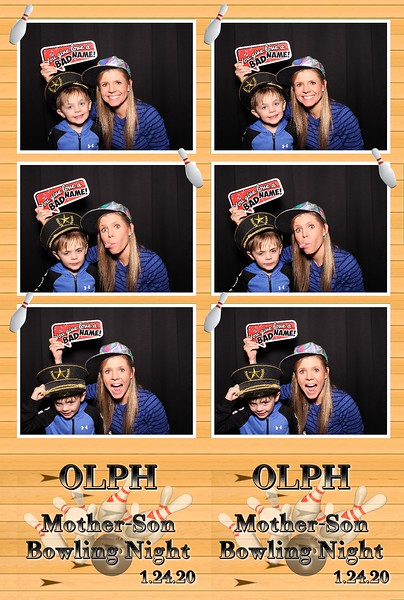 OLPH Mother-Son Bowling Night (01/24/20)
