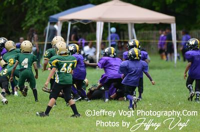 08-10-2013 Montgomery Village Sports Association Chiefs Tiny Mites vs Spirit of Faith Warriors, Photos by Jeffrey Vogt Photography