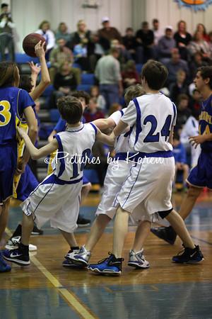 Trinity 8th Grade Boys vs Ramsey 8th Grade Boys