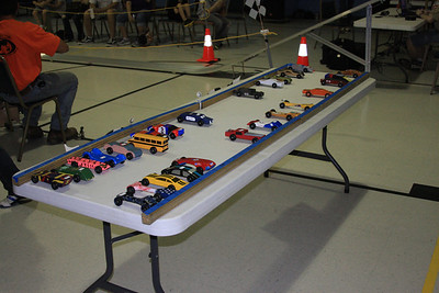 Pack Pinewood Derby 2012