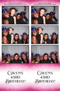 10/10/20 - Gwen's 43rd Birthday