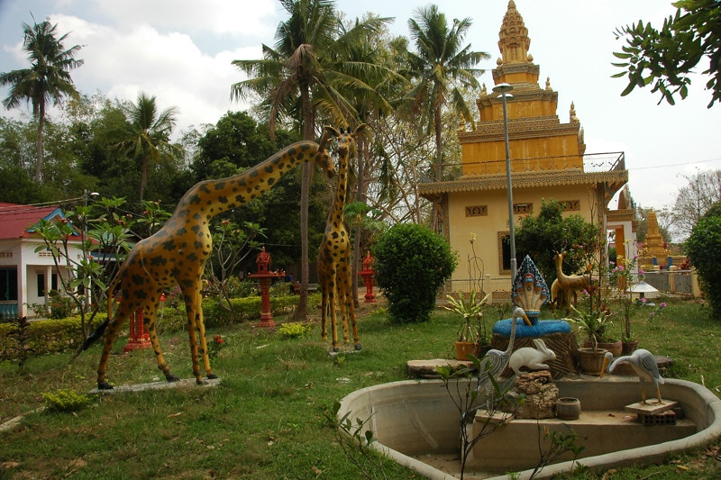 Buddhist Temple - Battambang, Cambodia