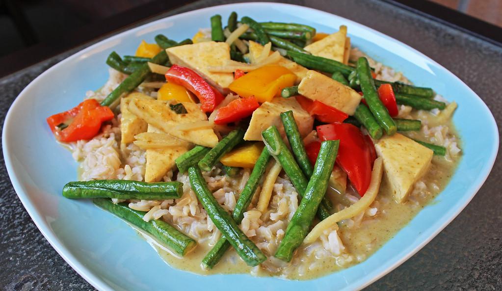 Vegan Tofu Pad Prik