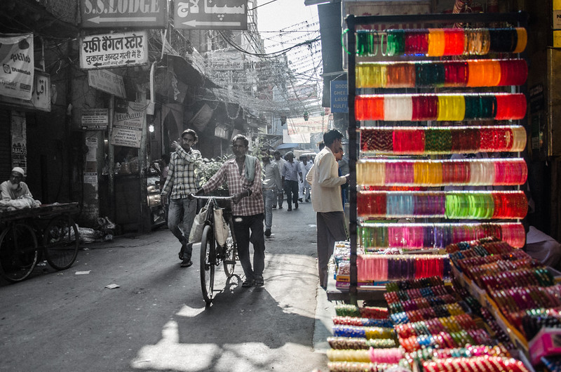 BANGLES, ADDING COLOUR, DELHI, INDIA, 2017.