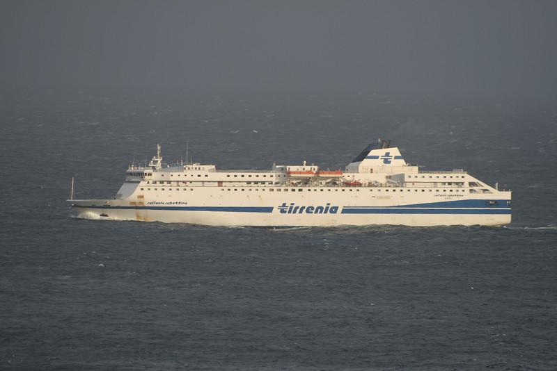 2010 - F/B RAFFAELE RUBATTINO sailing on a bad sea.