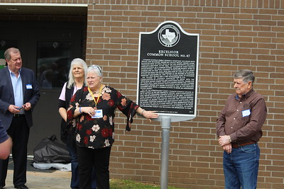 Excelsior ISD dedication of historical marker and first ever school reunion