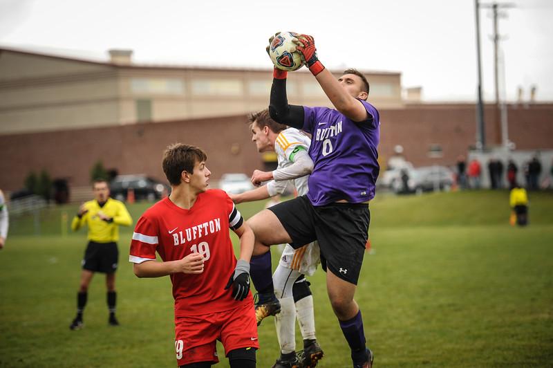 10-27-18 Bluffton HS Boys Soccer vs Kalida - Districts Final-314.jpg
