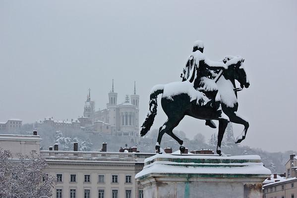 Lyon sous la neige (December 2010)