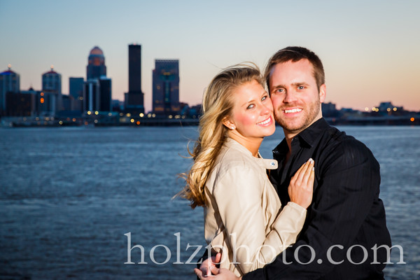 Lexie & Cody Color Engagement Photos