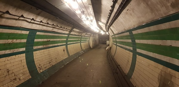 Piccadilly Circus abandoned tunnels 2019