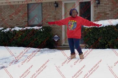 Snow Storm In Dallas
