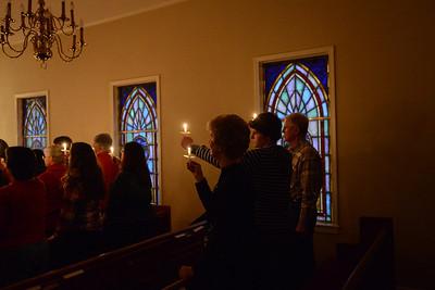 Christmas Eve Candlelight 12/24/2013