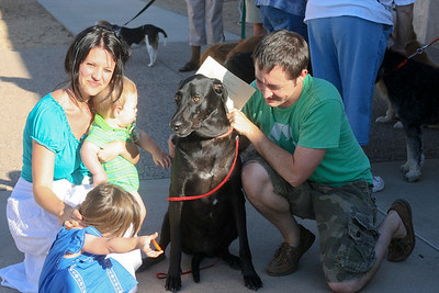 Blessing of Animals 2011