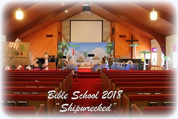 Bible School 2018 Monday 6/25/18