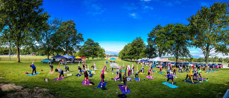 Broadview Heights Farmers Market Outdoor Yoga