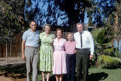 Nancy's Wedding & California - 1964