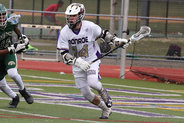 April 12, 2018 Boys LAX vs JP Stevens 17-0 win photos by R DeBoer