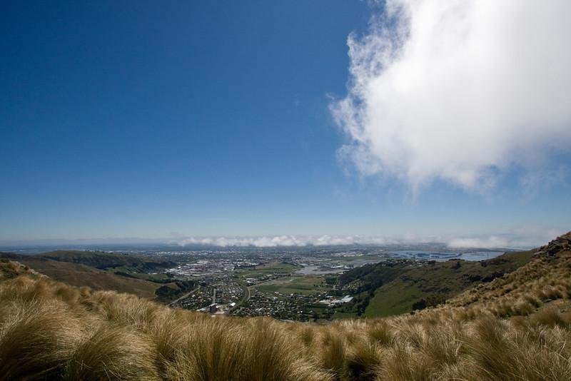 Sun, zephyr, clouds, views