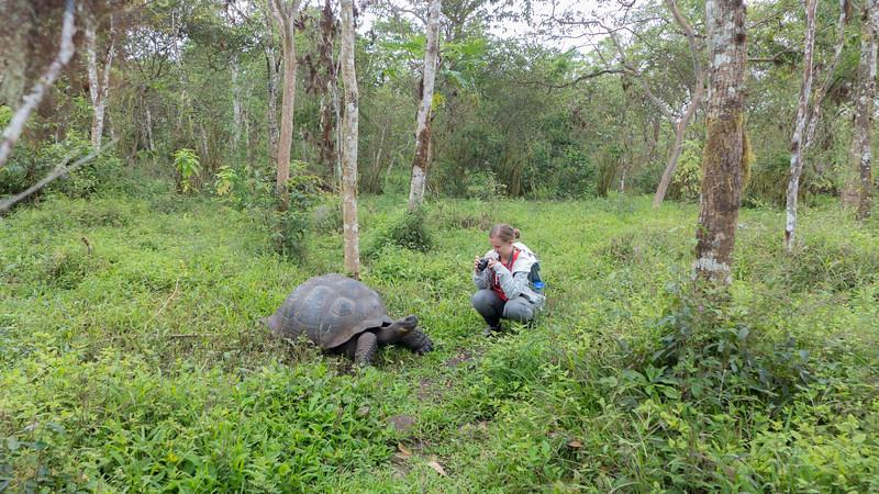 Molly w Giant Tortoise.jpg