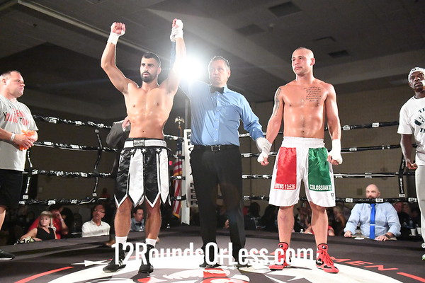 Danny Rosenberger, Niles, OH  -vs-  Erik Plumeri, Lockport, NY, 154 Lbs.
