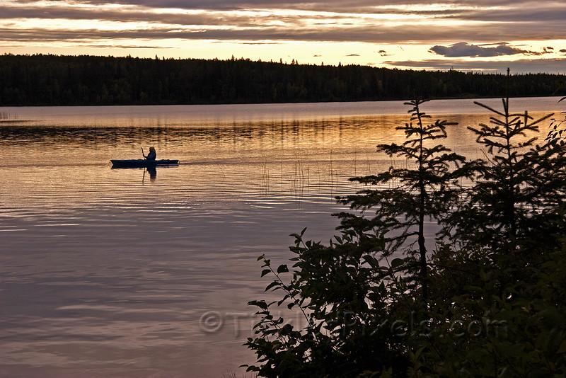 Golden Hour, Carson Lake, Alberta