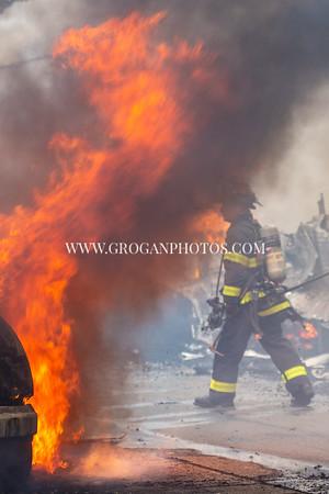 Bronx 5th Alarm Box 2433 528 Drake St off Randall Ave 9/7/20
