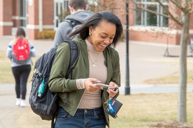 GWU Student's First Day Jan 2018