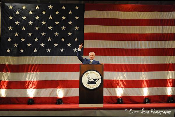 Buzz Aldrin Public Address