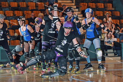 SCDG Sirens vs. Shasta Roller Derby - May 6th, 2012